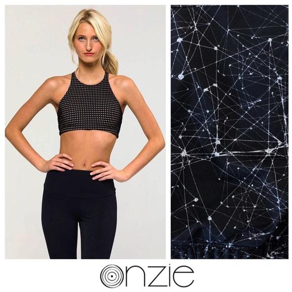 fb49ff0c622 Onzie Intimates & Sleepwear | Black White Constellation High Neck ...